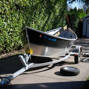 Front view of boat