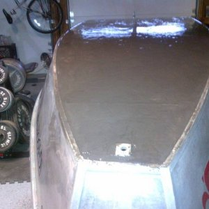 level boat for drying