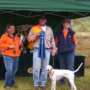 Remi and I winning the top gun pointer