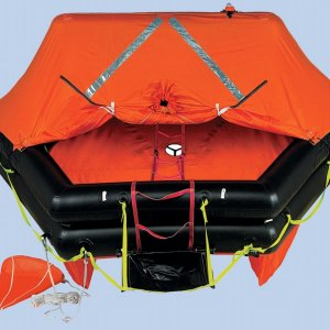 Life Raft in Valise