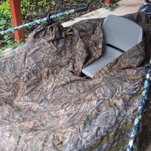 pontoon duck blind 2