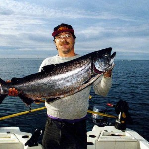 35 pound ocean chinook