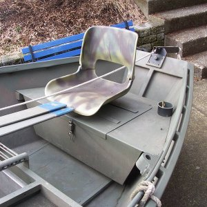 16ft Koffler Drift Boat 8hp Suzuki 2 Stroke