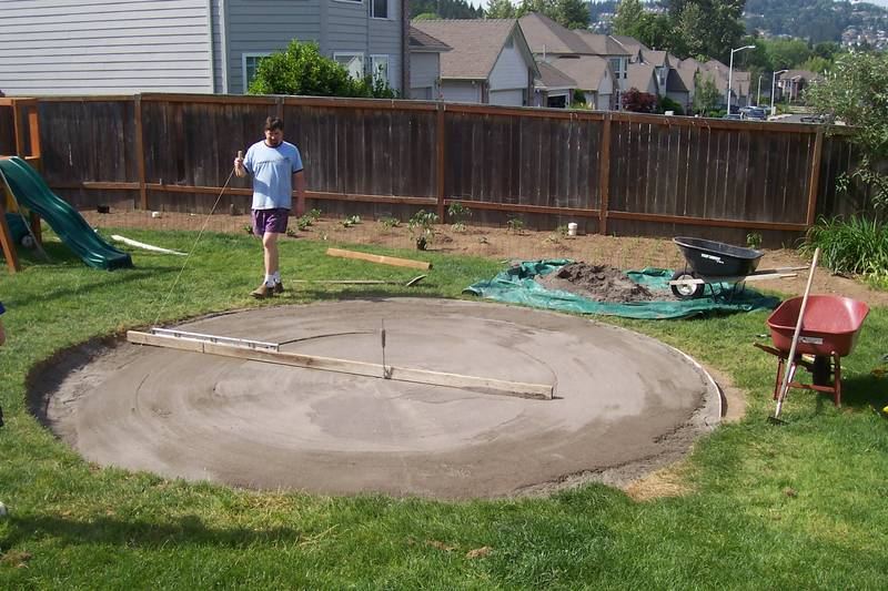 Leveling Ground For A Pool Www Ifish Net