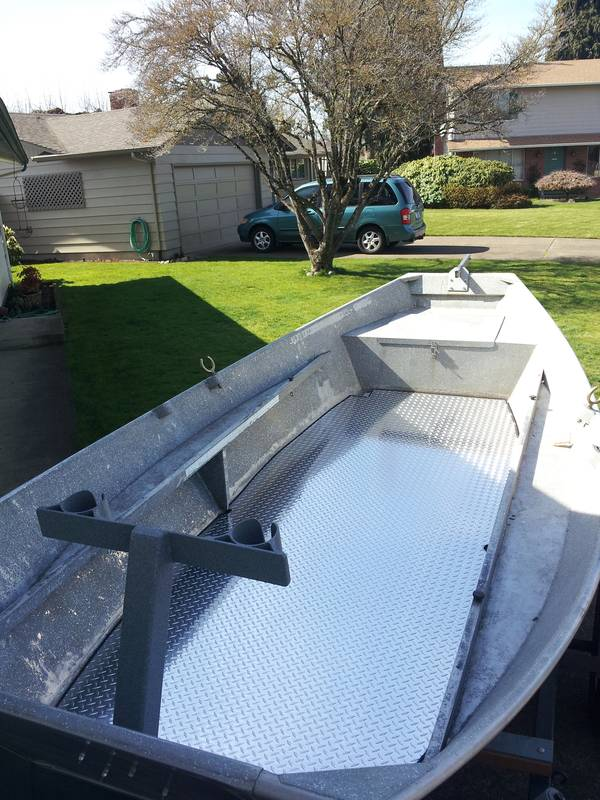 Drift Boat Floor Replacement And Diy Zolatone Www