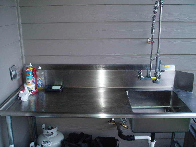 Show me your fish cleaning setup for Fish cleaning board