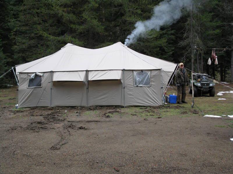 & Wall tent - www.ifish.net