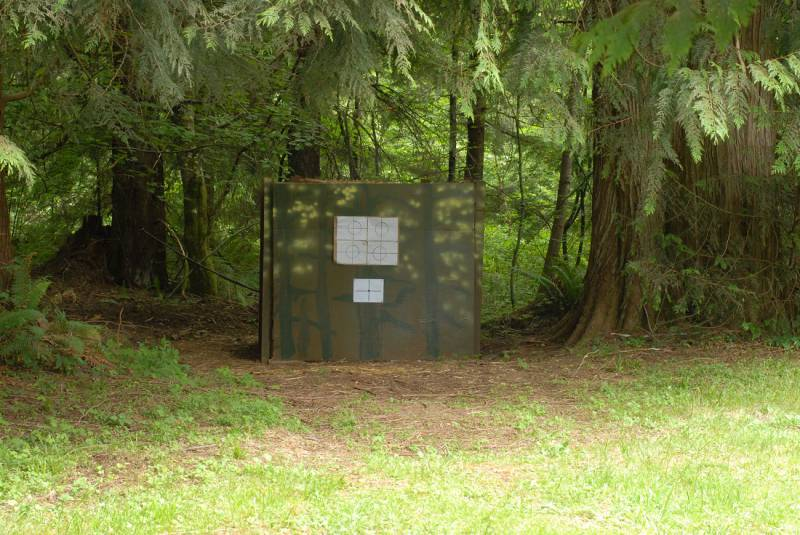 how to build a shooting range backstop