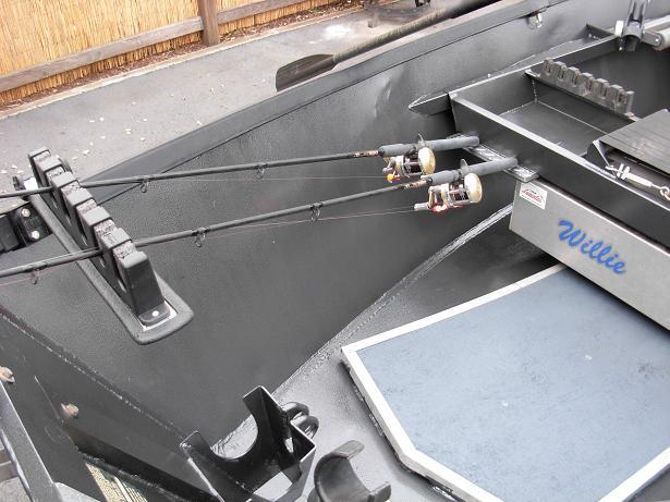Drift Boat Rod Holder Pics