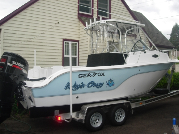 I Named My Vessel After Favorite Fishing Buddy Son Wyatt Wy For Short A Little Play On Words As In Wys Guy